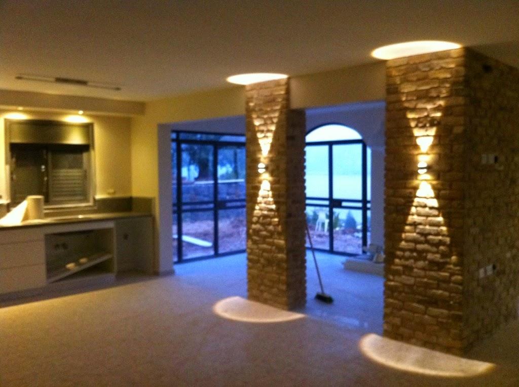 תאורה לבית במושבה כינרת