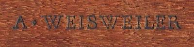 Adam Weisweiler stamp
