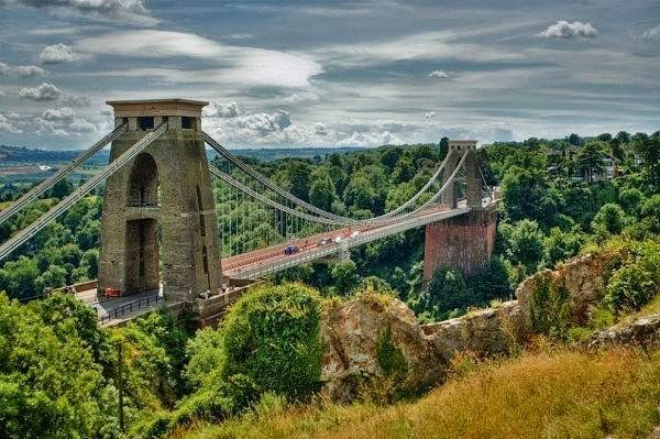 Clifton Suspension Bridge, England