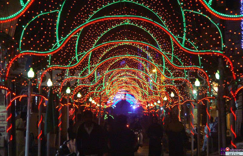 Bridals and grooms 12 rabi ul awal street decoration ideas for 12 rabi ul awal decoration