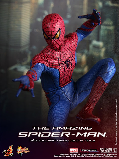 toyhaven incoming hot toys the amazing spiderman 16th