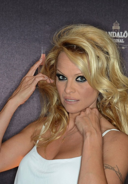 Pamela Anderson Hams It Up For The Cameras In Germany » Gossip | Pamela Anderson
