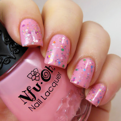 jelly sandwich nails with nfu oh js10