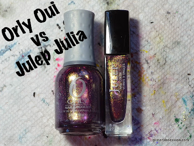 orly oui, julep julia