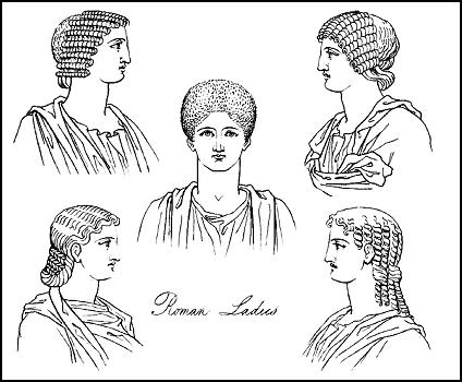 essays on roman clothing These are some examples of hair styles and head pieces of the byzantine empire this photo has most of them ranging from high class to poor.
