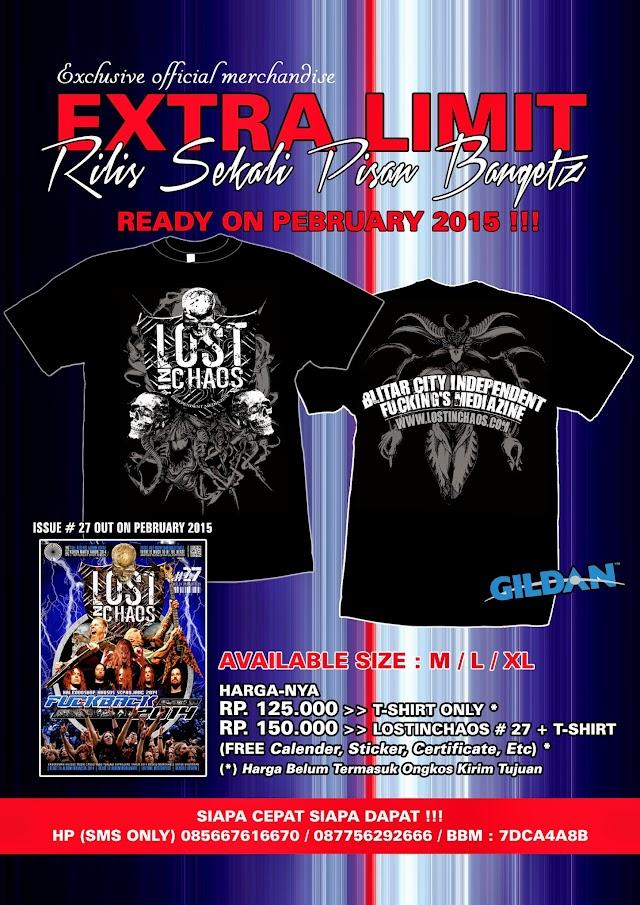 COMING SOON !!! Exclusive Official Merchandise LOSTINCHAOS Mediazine T-Shirt