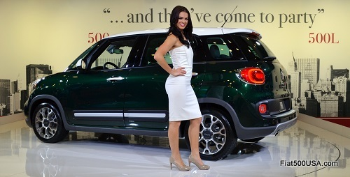 Fiat 500L with Megan Agrusa