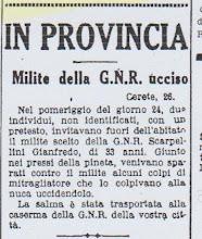 ECO DI BERGAMO   24 LUGLIO 1944 SCARPELLINI GIANFREDO