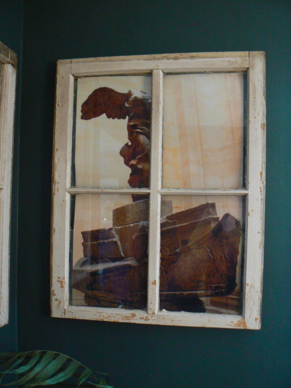 How to hang an old window little house design theyve been hanging up for several days now and no major catastrophes so i think they are good if you are hanging a window in a hallway or somewhere where jeuxipadfo Gallery
