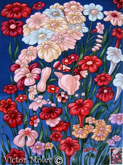 Albert einstein flowers theoretical physicist