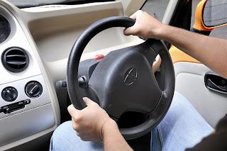new Tata Nano Lx 2012 steering view