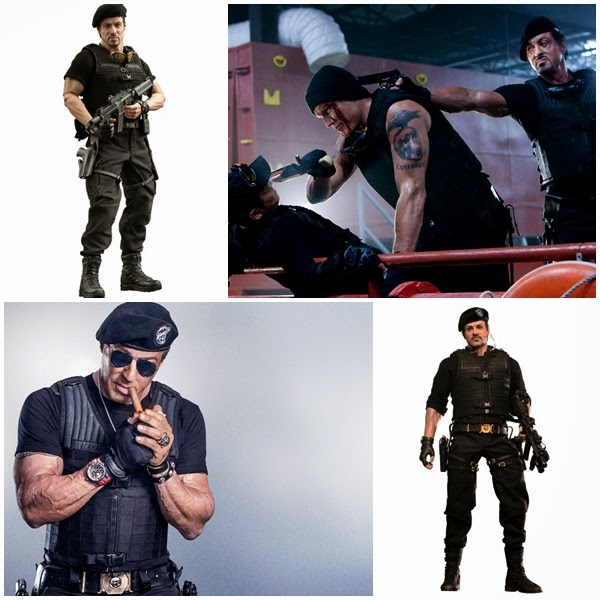 Sylvester Stallone as Barney Ross: The Expendables Movie