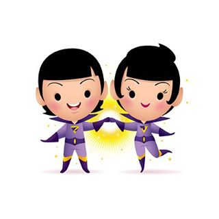 "Designer Con 2015 Exclusive Wonder Twins ""Activate!"" DC Comics Mini Print by Jerrod Maruyama"