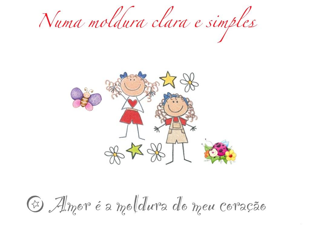 Numa Moldura Clara e Simples