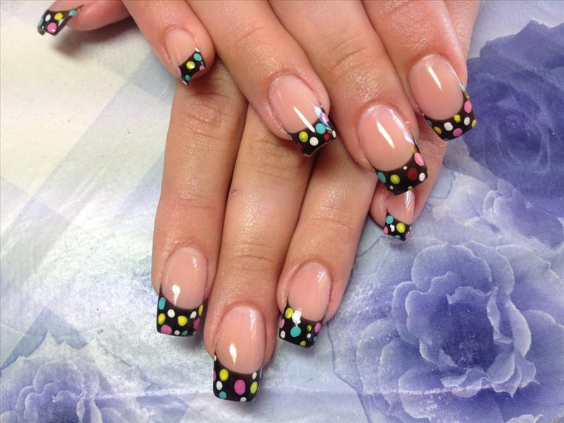 Nail designs: French manicure