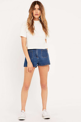 Urban Outfitters the 70s denim shorts