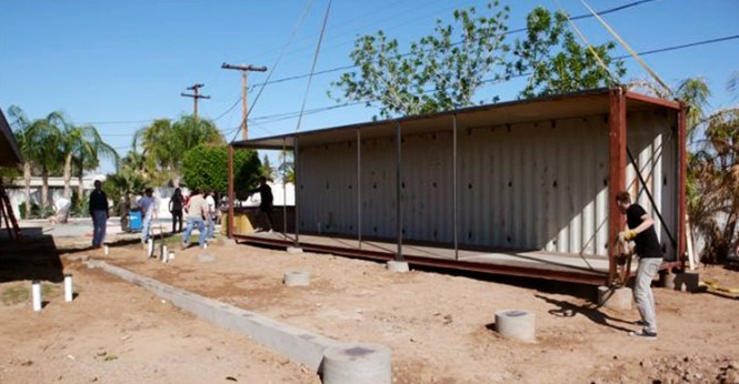 UpCycle Living - Arizona - Phoenix Addition, Container Home