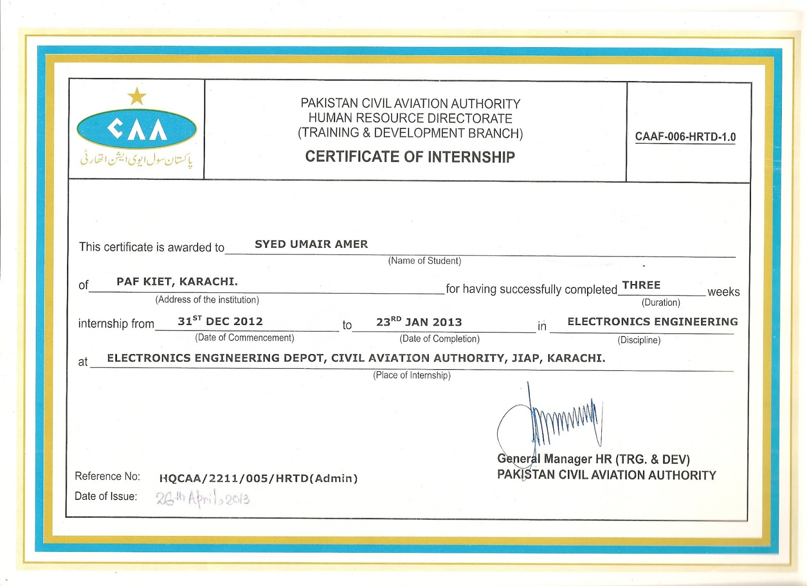 Syed umair amer certificates my certifications syed umair amer certificates 1betcityfo Image collections