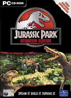 Jurassic park - Operation Genesis Poster | Jurassic park - Operation Genesis Cover