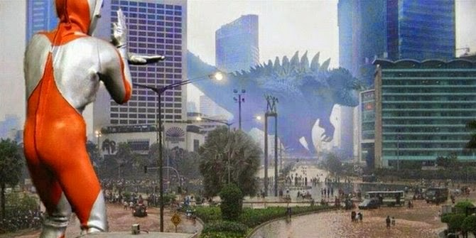 Meme Lucu Banjir Jakarta