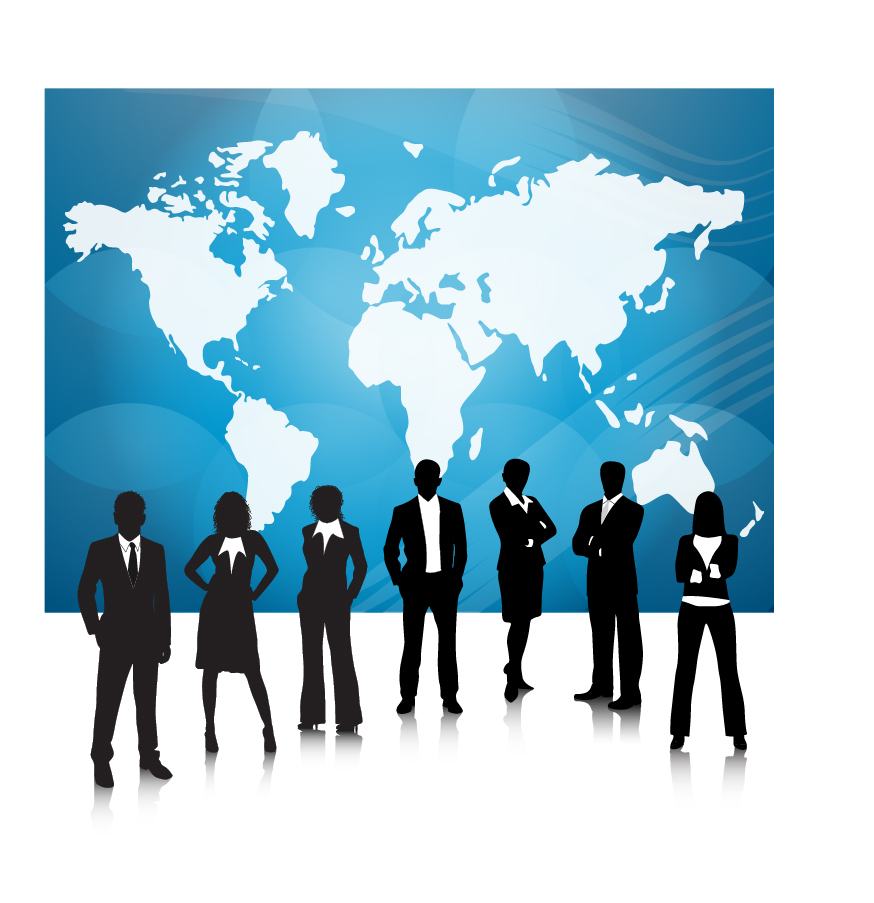 無料 アルファベット 無料 : 世界地図を背景にしたビジネス ...