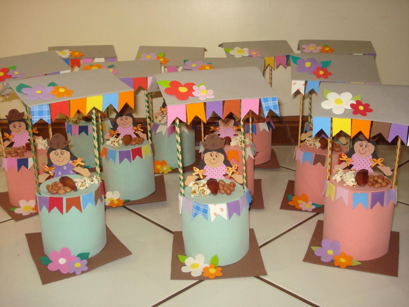 decoracao festa junina educacao infantil:Andreia Decorações: baraquinhas para festa junina