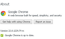 Google Chrome 22 Stable Offline Installer