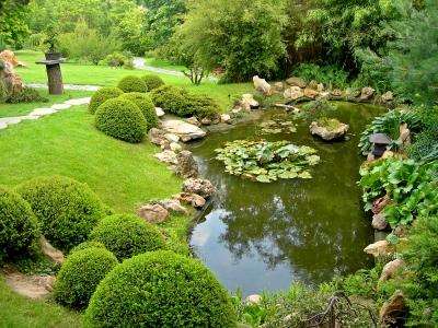 el agua como elemento ornamental