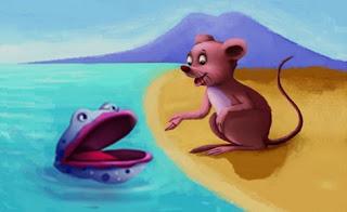 Il topo e l'ostrica (La Fontaine)