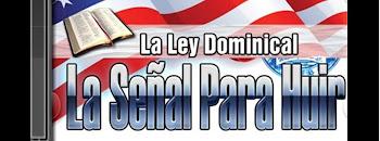 Adelantos En La Ley Dominical...