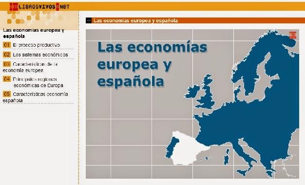 LAS ECONOMÍAS EUROPEA Y ESPAÑOLA