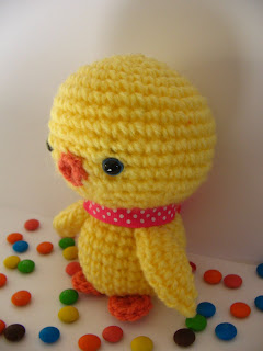 gift for easter: free amigurumi pirate chick crochet pattern