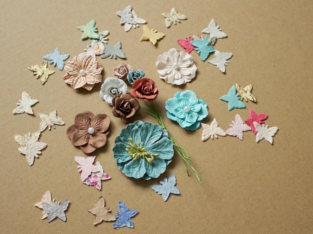 Конфетка от Творить. Учиться. Любить. - цветы и бабочки