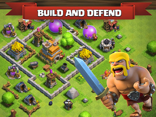 Clash of Clans 6.407.8 APK Android,android game download