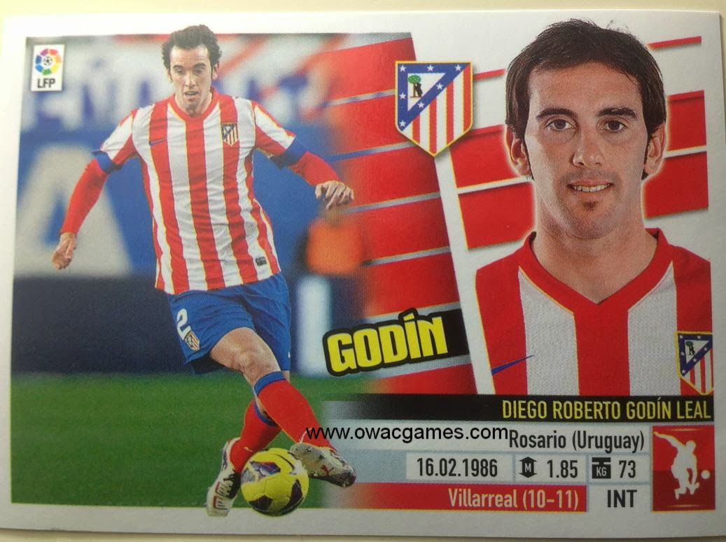Liga ESTE 2013-14 Atl. de Madrid - 5 - Godín