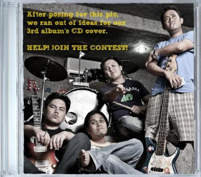 Missing Filemon Third Album CD Cover Contest
