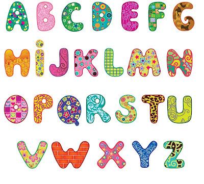 Banco de im genes 15 im genes did cticas para ni as y - Lettres alphabet originales ...