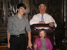 Chloe and Nolan join PA Governor Corbett at the Capitol for his budget address!