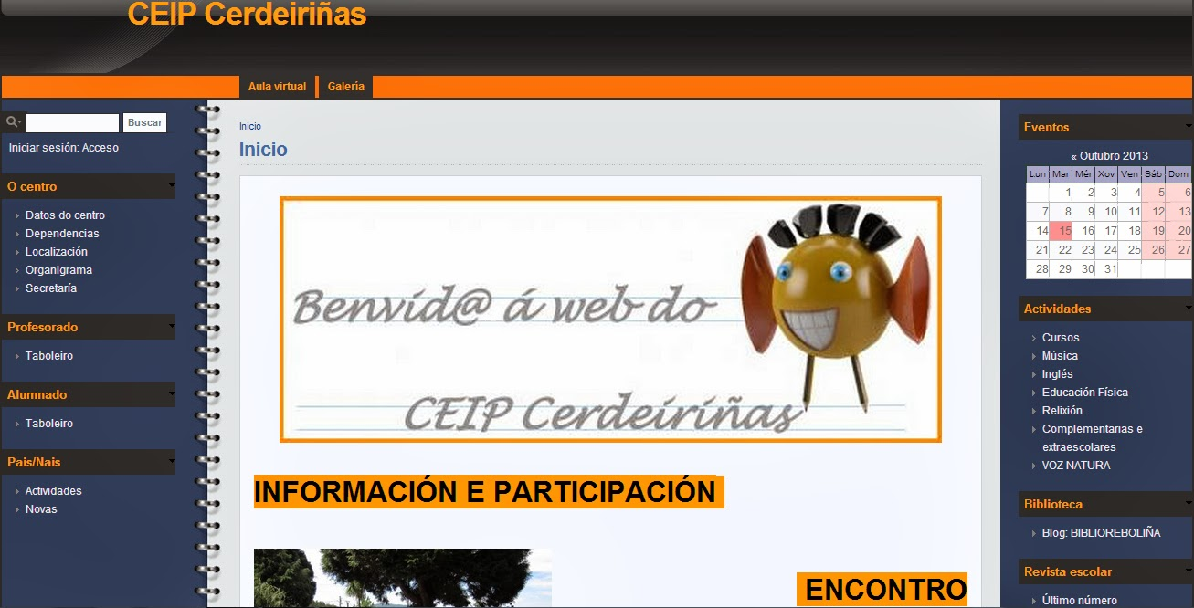 A NOSA WEB