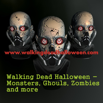Walking Dead Halloween - Monsters, Ghouls, Zombies and more