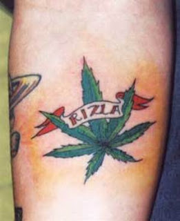 Weed Tattoos, Tattooing