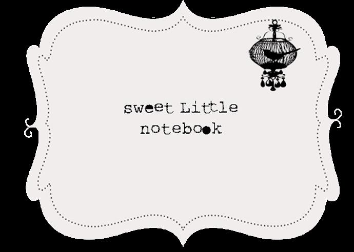 ♥Sweet Little Notebook♥
