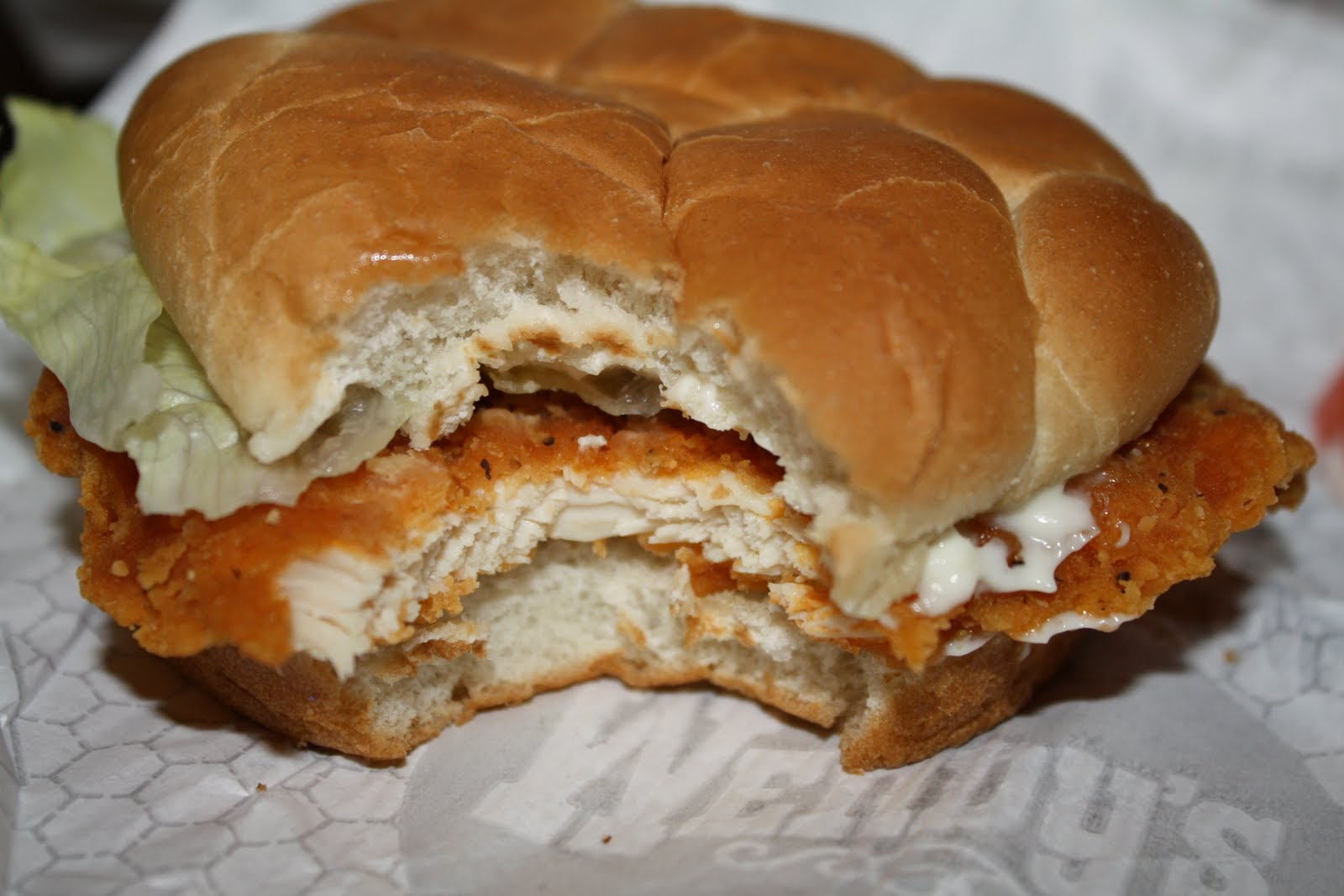An immovable feast wendy 39 s spicy chicken sandwich for Does wendy s have a fish sandwich