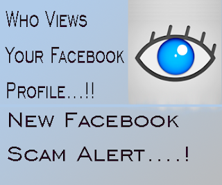 Facebook profile Viewer Scam