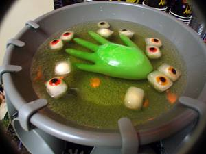 Spooky Eyeball Punch for Halloween Party