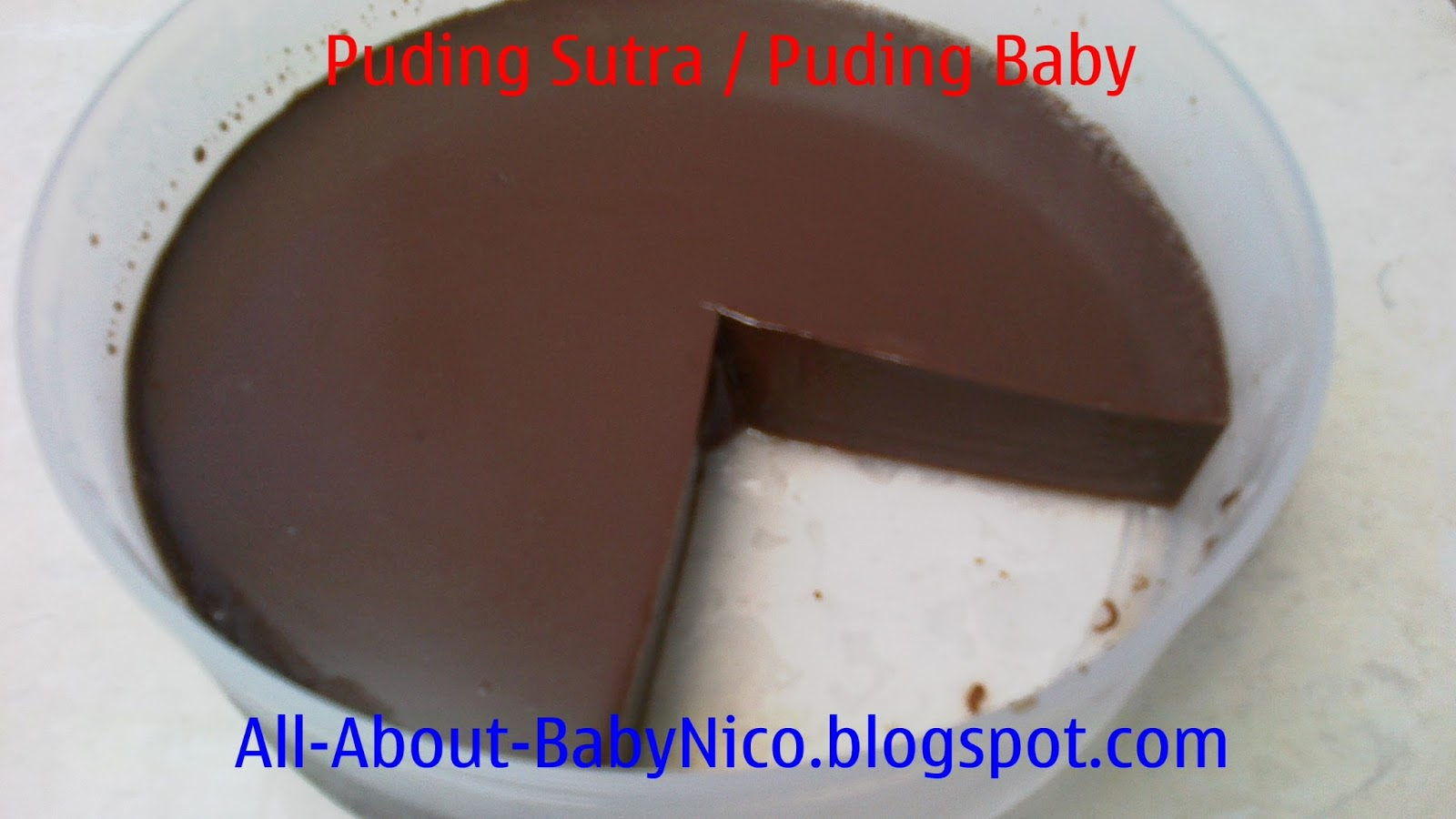 Puding Sutra Coklat