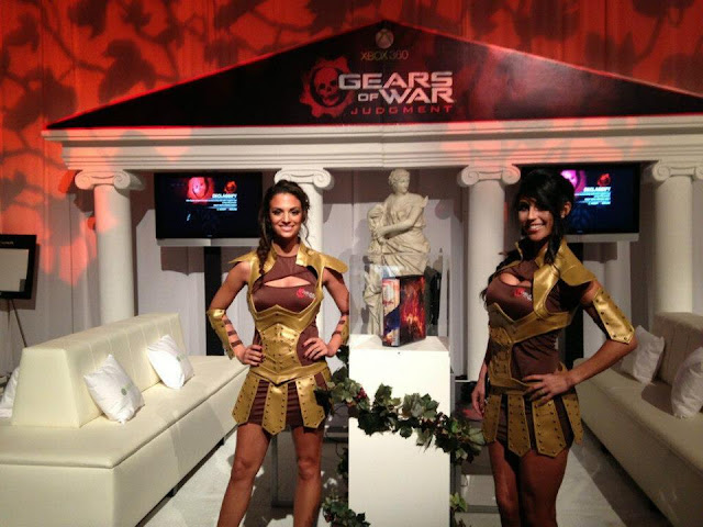 gears of war babes promo girls