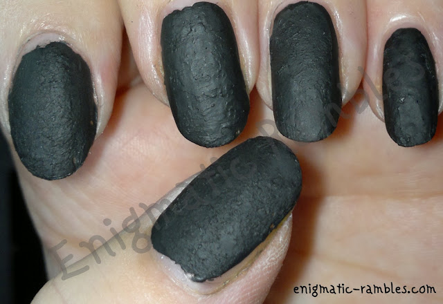 nails inc leather diy
