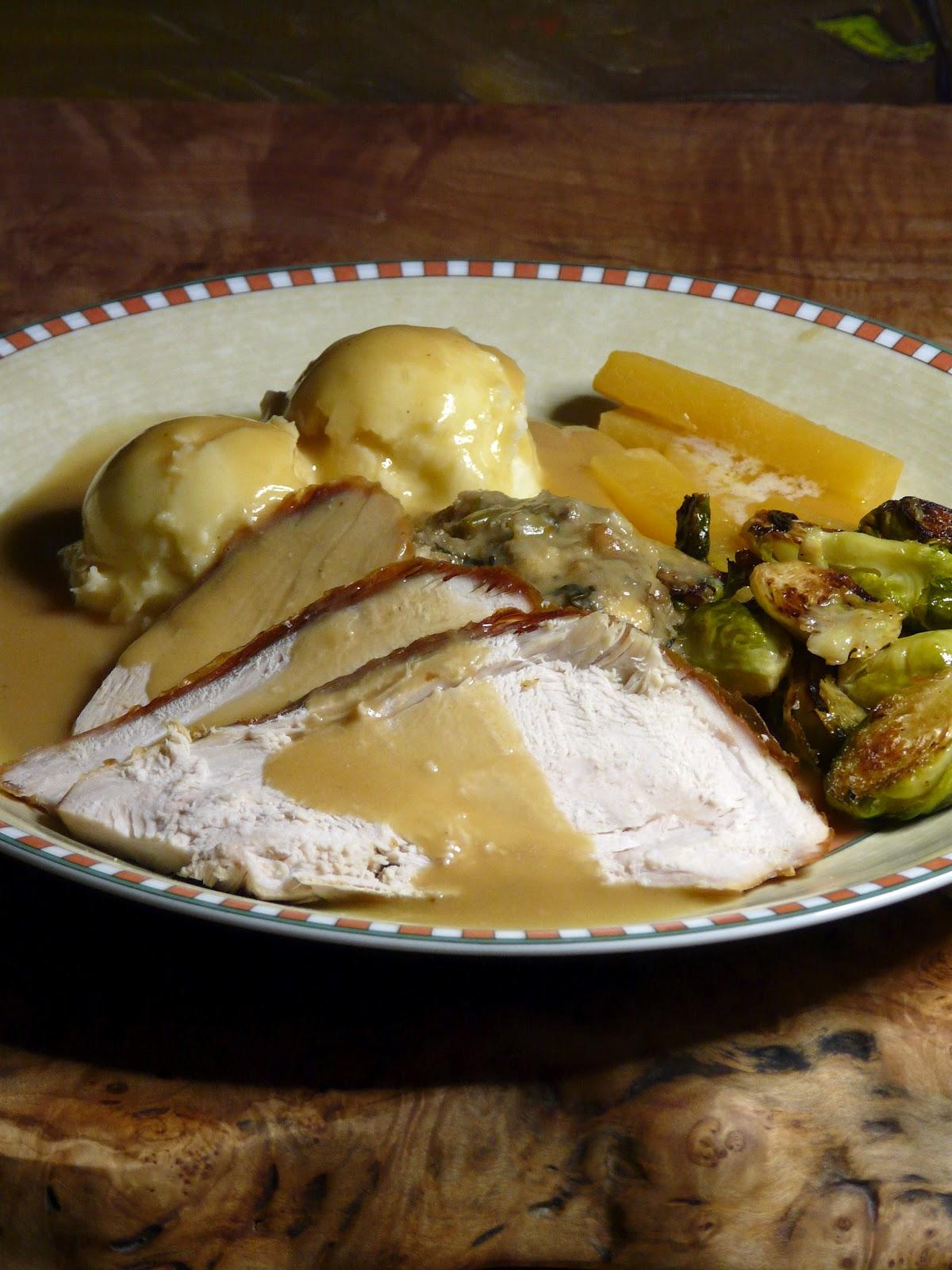 Thibeault's Table: Mid-Week Roast Turkey Dinner