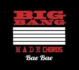 BIGBANG - Bae Bae Chords and Lyrics